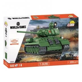 Конструктор COBI World Of Tanks Т-34/85, 500 деталей