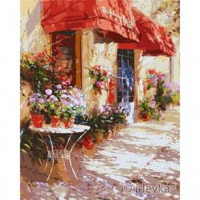 Картина по номерам Цветочный магазин Ira Volkova КНО3590 Идейка