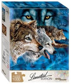 Пазл Найди 12 волков 1000 эл
