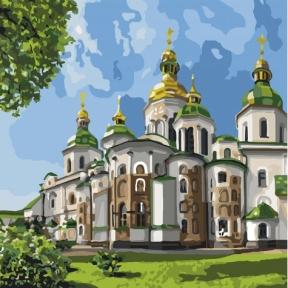 Картина по номерам София Киевская 2 30 х 30 см КНО2832 Идейка