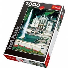 Пазл Замок Линдерхоф Баварские Альпы Германия 2000 эл Trefl