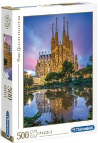 Пазл Храм Святого Семейства в Барселоне 500 эл