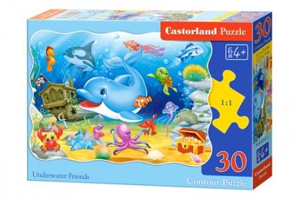 Пазл Друзья подводного мира 30 эл