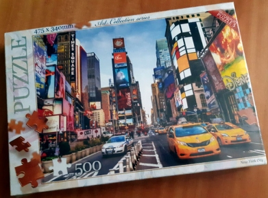 Пазл Нью Йорк 500 эл