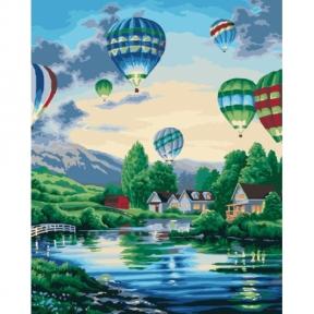 Картина по номерам Воздушные шары 2 40 х 50 см КНО2221 Идейка