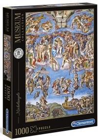 Пазл Страшный суд копия картины Микеланджело 1000 эл