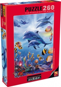 Пазл Дельфины 260 эл Anatolian