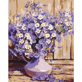 Картина по номерам Букет полевых цветов 40 х 50 см КНО3020 Идейка