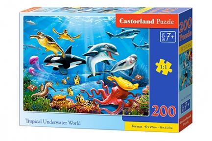 Пазл Тропический подводный мир 200 эл