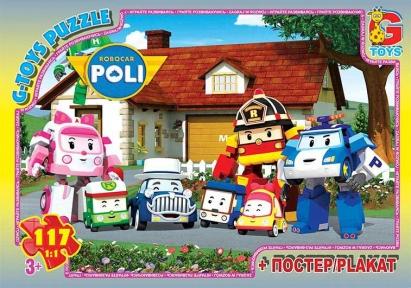 Пазл Робокар Полли 117 эл RR067443 G-Toys