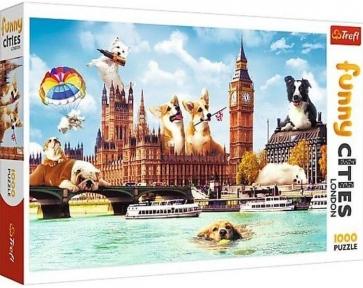 Пазл Собаки в Лондоне 1000 эл