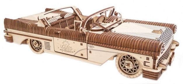 3D Пазлы Механическая модель Кабриолет мечты VM-05 739 дет Ugears