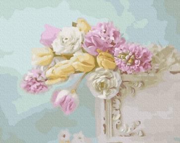 Картина по номерам Цветочная нежность 40 х 50 см Brushme