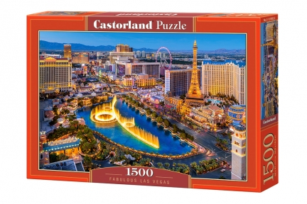 Пазл Невероятный Лас Вегас 1500 эл