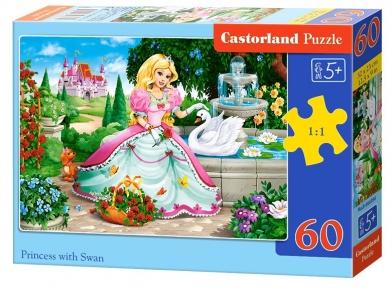 Пазл Принцесса и лебедь 60 эл