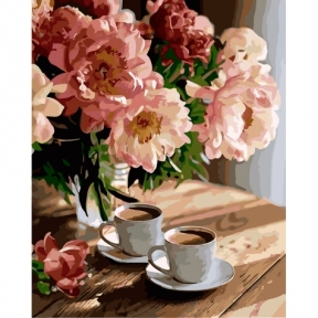 Картины по номерам Романтическое настроение КНО3080 Идейка