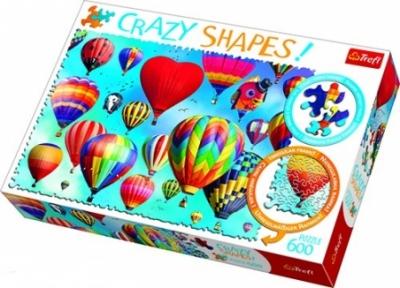 Пазл Воздушные шары 600 эл серия Crazy Shapes
