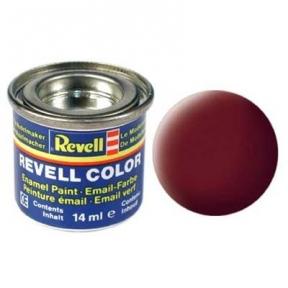Краска для моделей эмалевая Revell № 37 Кирпично-красная матовая 14 мл
