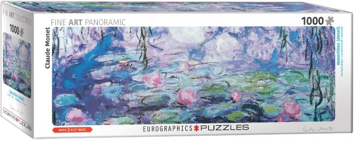Пазл Eurographics Водяные лилии (фрагмент) Клод Моне 1000 эл панорамный 6010-4366