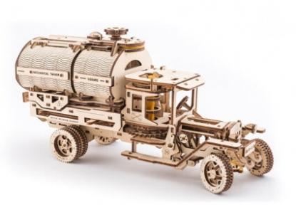 3D Пазлы Модель Автоцистерна 594 дет Ugears