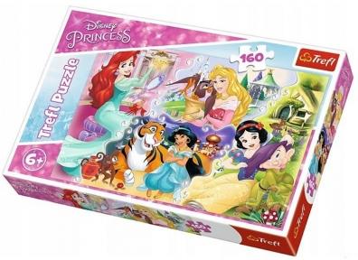Пазл Принцессы с любимцами 160 эл