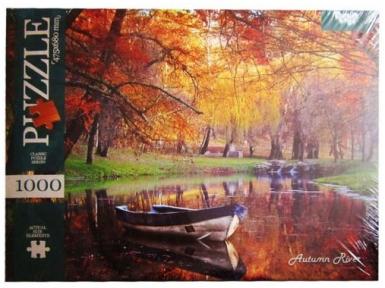 Пазл Осенняя река 1000 эл
