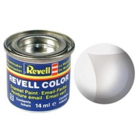 Краска для моделей эмалевая Revell № 1 Бесцветный прозрачный глянцевый лак 14 мл.