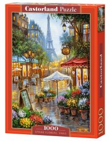 Пазл Весенние цветы Париж 1000 эл