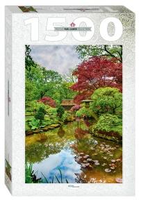 Пазл Нидерланды Гаага Японский сад 1500 эл Step Puzzle