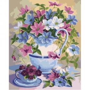 Картина по номерам Цветочная поэзия 40 х 50 см КНО2049 Идейка
