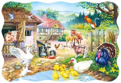 Пазл Домашние животные 30 эл 03136