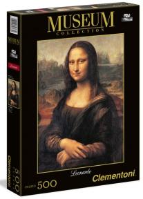 Пазл Джоконда Мона Лиза 500 эл 30363 - double