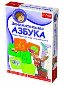 Настольная игра Trefl Азбука TFL-01101