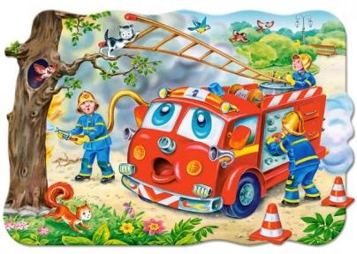 Пазл Пожарная бригада 20 макси 02146