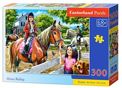 Пазл Катание на лошадях 300 эл b-030095