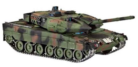 Сборная модель-копия Revell Танк Леопард 2 уровень 4 масштаб 1:72