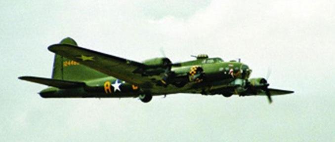 Тяжелый бомбардировщик (1943г., США) B-17G Flying Fortress; 1:72 04283