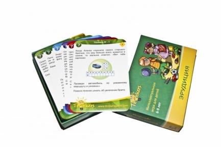 Игра Эрудиция для детей 6-9 лет (русский язык) 0604