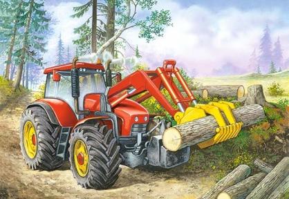 Пазл Трактор 60 эл 06366