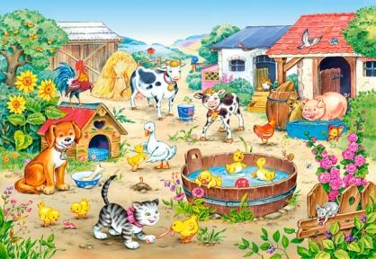 Пазл для детей Ферма 60 эл 06489