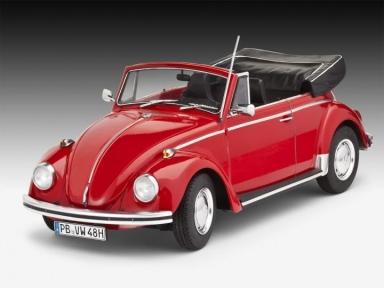 Автомобиль  VW Beetle Cabriolet 1970;1:24;10+ 07078