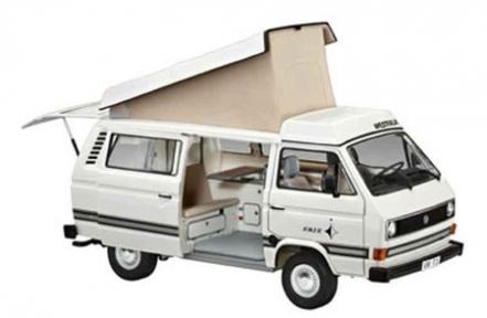Пластиковая сборная модель Ревелл Автомобиль (1982г., Германия) VW T3 Camper; 1:25 07344