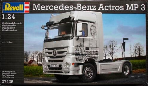 Автомобиль Mercedes-Benz Actros MP3 1:24 Revell 07425