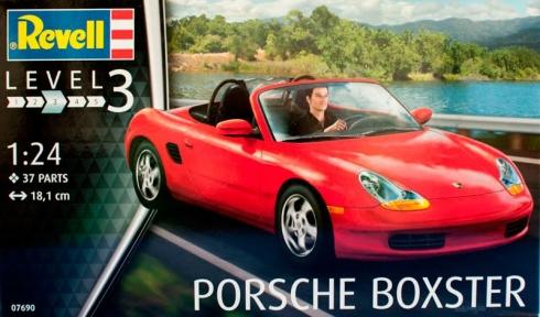 Автомобиль Porsche Boxster 1:24 Revell 07690