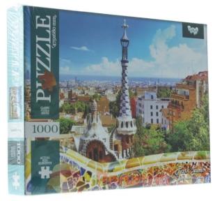 Пазл Парк Гуэль в Барселоне 1000 эл 1000-09-03
