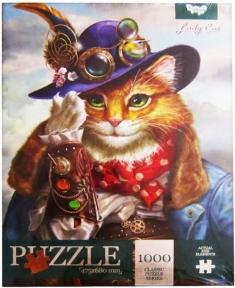 Пазл Кошка 1000 эл 1000-09-10