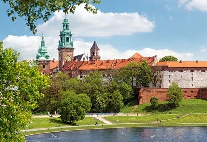 Пазл Королевский замок Wawel, Краков, Польша, 1000 эл. 102334-1
