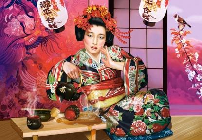 Пазл Чайная церемония Гейши 1000 эл 102631