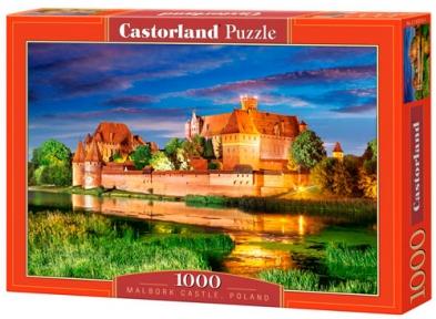 Пазл Замок Мальброк Польша 1000 эл 103010