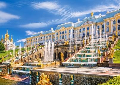 Пазл Дворец Петергоф Санкт-Петербург 1000 эл 103102